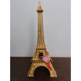 tour eiffel decoration metal dore 1538-12 lb4